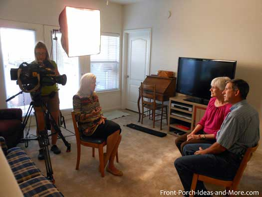 Foxnews Interview with Front Porch Ideas