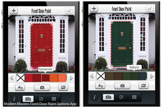 picture of Modern Masters Front Door Paint Color Options App