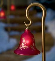front porch designs - Shepherds hook bells
