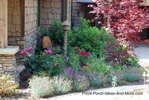 Front porch landscaping ideas front yard landscaping for Landscaping ideas around house