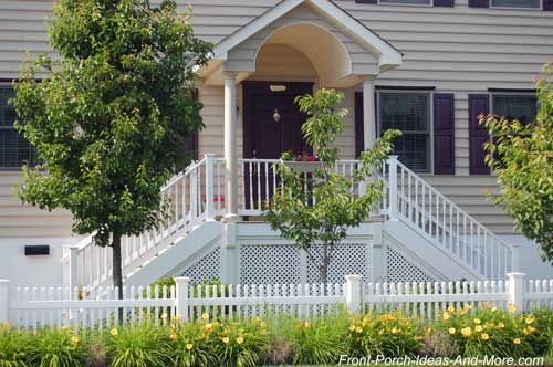 Front porch landscaping ideas front yard landscaping for Small front porch landscaping ideas