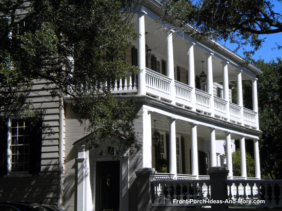 Charleston SC side porches