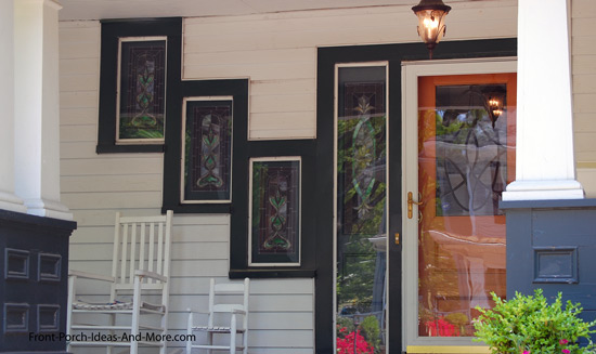 intriguing front porch window combination