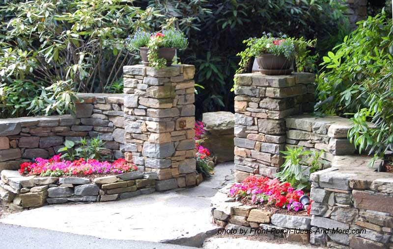 Raised Front Yard Landscaping Ideas Part - 32: Home Landscaping Example 11