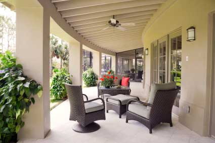 Small Garden Ideas moreover Best Patio Grout 4 Patio Tiles By Slate Patio Stripped Treated For Grout And 2425652 in addition Porch Furniture besides Classic White Porch besides N 5xtor. on wicker deck furniture
