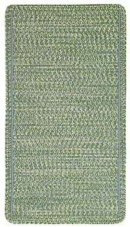 Green exterior rug
