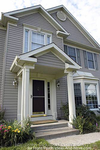 Inspiring front porch design ideas for your viewing pleasure Front porch without roof