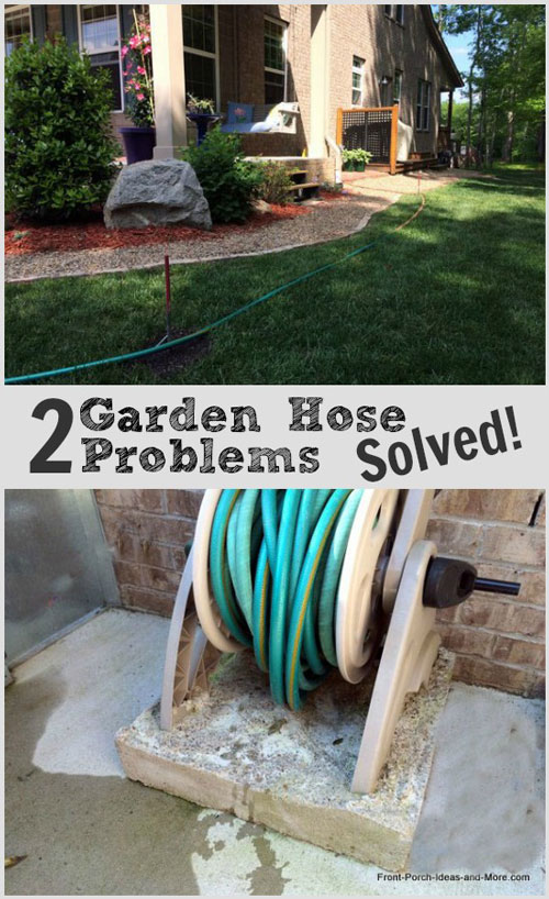 Two garden hose problems easily solved.