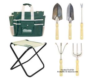 seven piece garden tool set