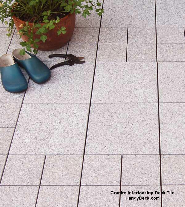 granite decking  tiles