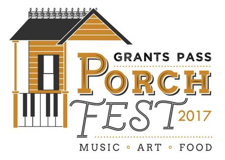 grants pass porchfest logo