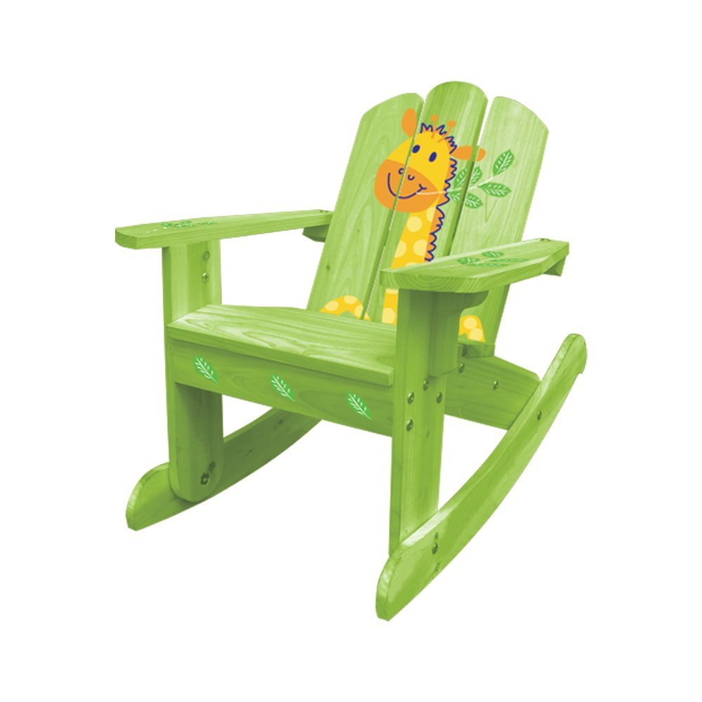 adirondack designed children's rocking chair
