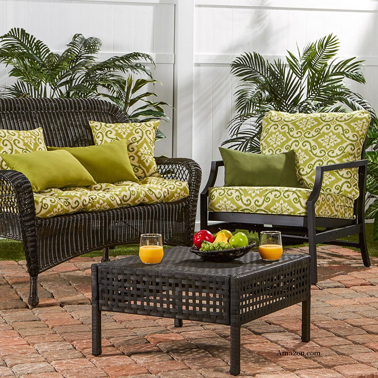 fashionable outdoor cushions from Amazon.com