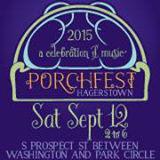 Hagerstown MD  porchfest logo