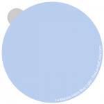 Haint Blue light - interpretation by Lori Sawaya - LandOfColor.com