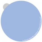 Haint Blue medium - interpretation by Lori Sawaya - LandOfColor.com