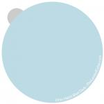 Haint Blue Ohio sample - interpretation by Lori Sawaya - LandOfColor.com
