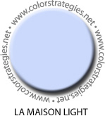 haint blue la Maison light