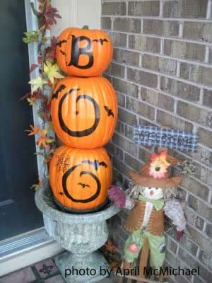 outdoor halloween decorations - Cute Outdoor Halloween Decorations