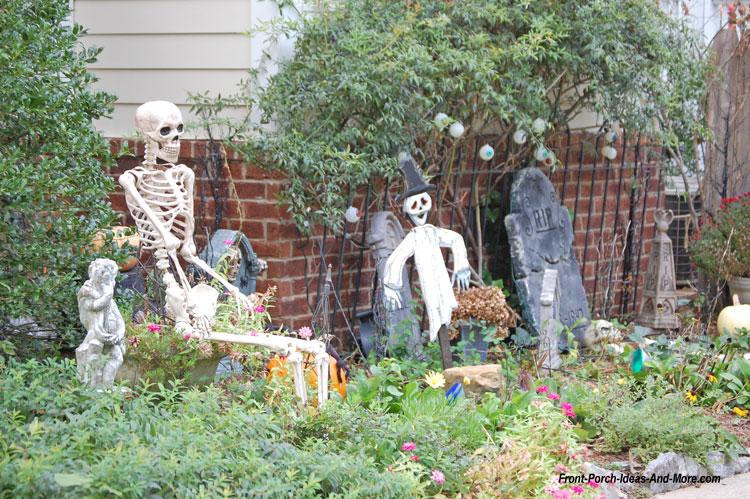 halloween grave yard