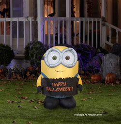 inflatable minion bob for halloween