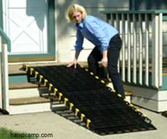 roll up ramp