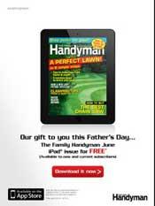Handyman Magazine promo photo
