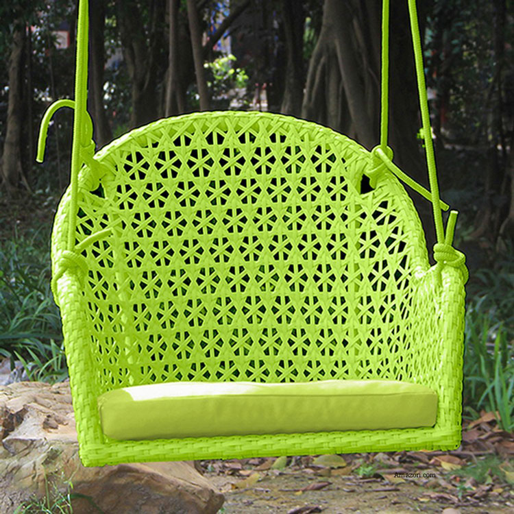 colorful hanging rope Porch Swing Chair