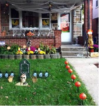 Happy Halloween from Our House in PA
