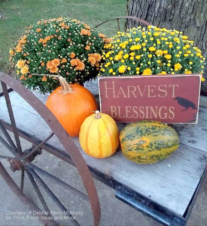 harvest blessings from our friend Debbie