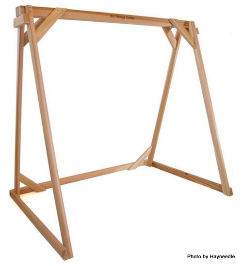 Hang a porch swing porch swings for Building a swing stand