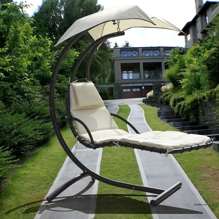 large capacity lounge chair with top