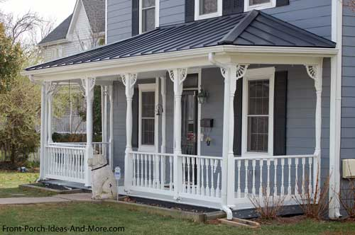 Perfect Exterior House Trim On Front Porch