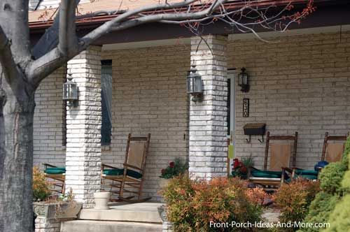 brick porch columns