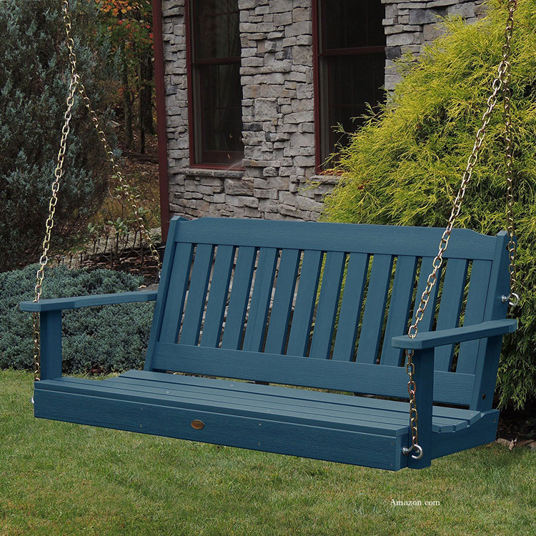 polywood porch swings for style color and durability