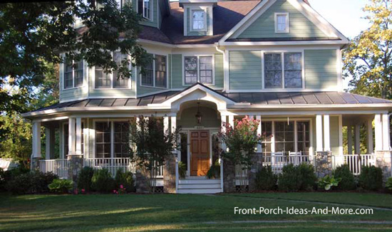 iconic American front porch