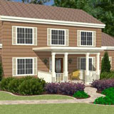 great front porch designs illustrator
