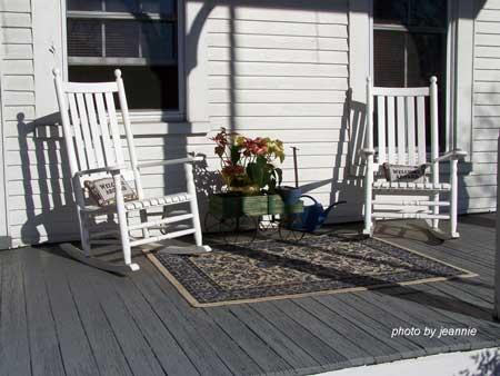 Indoor Outdoor Rug Placement