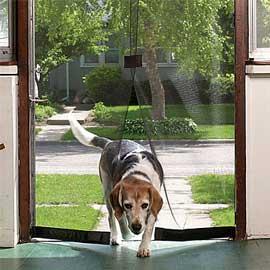 Instant Screen Door for Pets