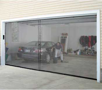Instant Sceen Door Garage Conversion