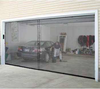 Instant Sceen Door Garage Conversion