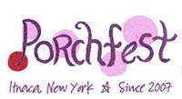 Ithaca New York Porchfest logo