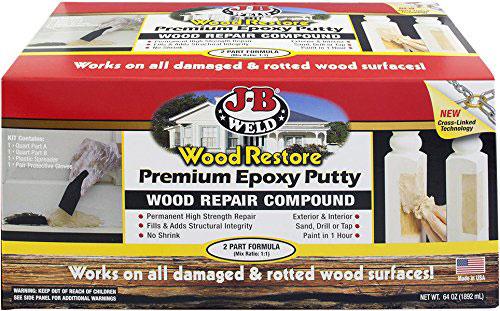 JB Weld Wood Restoration Kit