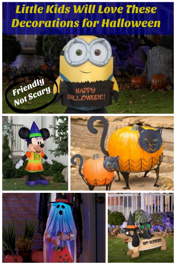 Halloween decoration ideas for little kids that are fun and not scary