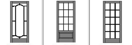 Wood Screen Door lattice designs