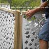 vinyl lattice panel for concealment
