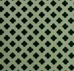 lattice fence design - Clover