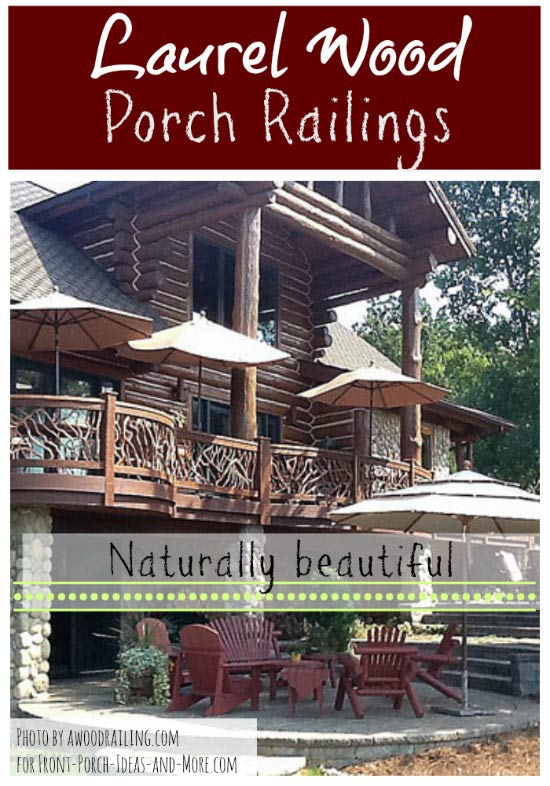 mountain laurel porch and deck railings
