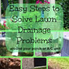 collage of drainage solutions