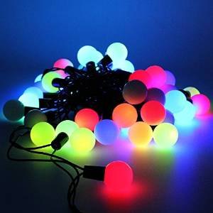 Multiple colored LED lights from Amazon & Outdoor Christmas Light Ideas to Make the Season Sparkle azcodes.com